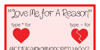 Love Me For A Reason Font text handwriting
