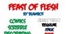 Feast of Flesh BB Font text handwriting