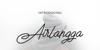 Airlangga Font design typography