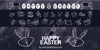 HAPPY EASTER Font text