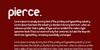 Pierce Font text design