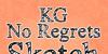 KG No Regrets Font design typography