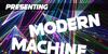 Modern Machine Font poster