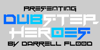 Dubstep heroes Font screenshot design