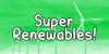 Super Renewables Font cartoon screenshot