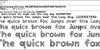 Jammycreamer Font receipt