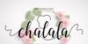 chalala Font design flower