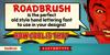 KTF-Roadbrush Font cartoon poster