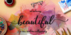 Beautiful Script Font handwriting child art