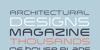 Arkitech Medium Font screenshot font