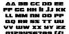 Guardian Font Letters Charmap