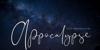 Appocalypse Font blackboard handwriting