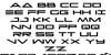 Capella Regular Font Letters Charmap