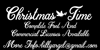 Christmas Time Personal Use Font handwriting typography