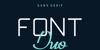 Exninja Font design