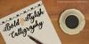 Bold  Stylish Calligraphy Font handwriting pen