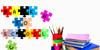 McPuzzle Color Font LEGO cartoon