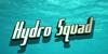 Hydro Squad Font swimming aqua