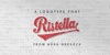 Ristella PERSONAL USE ONLY Font poster text