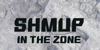 SHMUP in the zone Font text poster