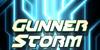 Gunner Storm Font graphic design