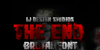The End DEMO Font poster