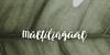 Muscat Font handwriting