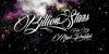Billion Stars Personal Use  Font fireworks design