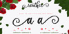 routher Font design graphic
