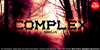 Complex bruja Font tree silhouette