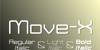 Move-X Font text
