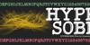 Hypersober Font book text