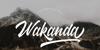 Wakanda Font text typography