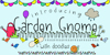 GJ-Garden Gnome Doodles Font cartoon screenshot