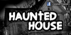 CF Haunted House Font outdoor sign