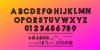 Zilap Monograma Font screenshot font