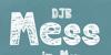DJB MESS IN MY HEAD Font design typography