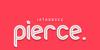 Pierce Font design graphic
