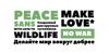 Peace Sans Font design graphic