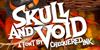 Skull And Void Font poster design