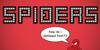Spiderling Font cartoon design
