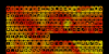 Nixies Font orange text