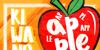 KIWANO APPLE Font design text