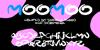 MooMoo Font cartoon poster