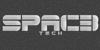 Spac3 tech Font screenshot black and white