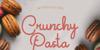 Crunchy Pasta Font poster