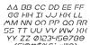 Earth Orbiter Italic Font Letters Charmap