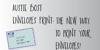 Austie Bost Envelopes Print Font handwriting text