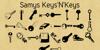 Samys Keys'N'Keys Font text handwriting