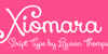 Xiomara Font design heart